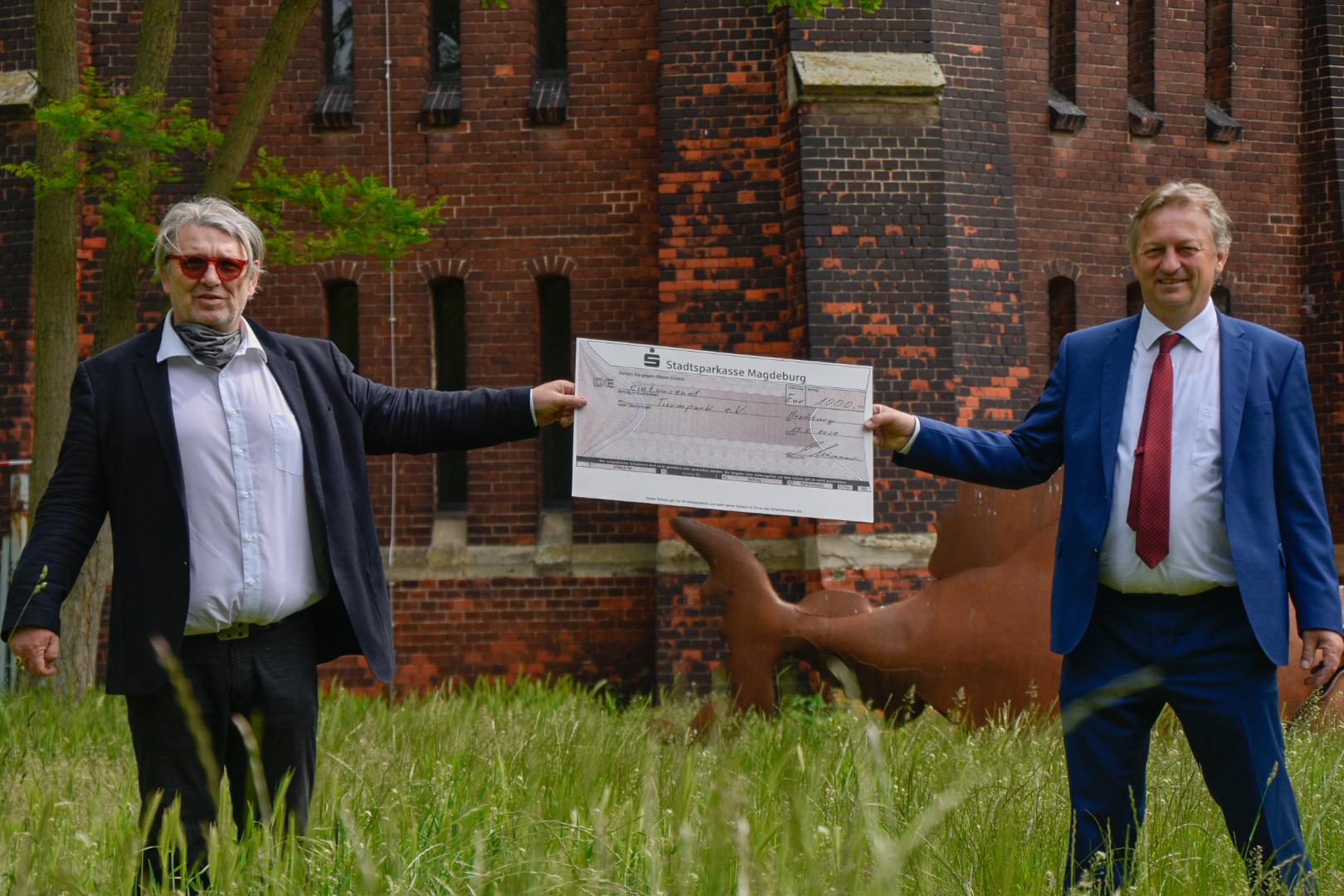 1.000-Euro-Spende an den Turmpark e.V.